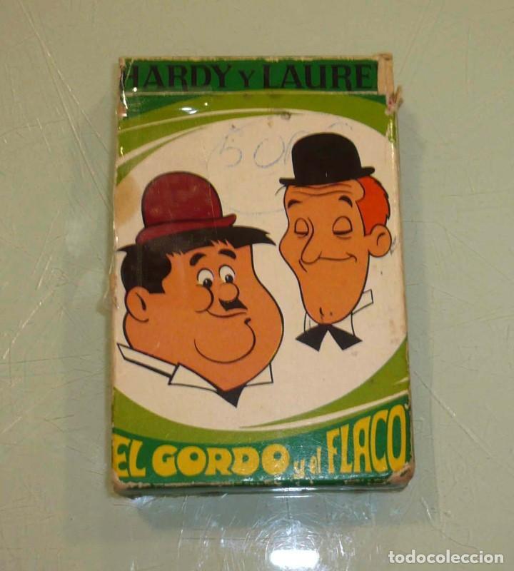 BARAJA - EL GORDO Y EL FLACO - (Juguetes y Juegos - Cartas y Naipes - Otras Barajas)