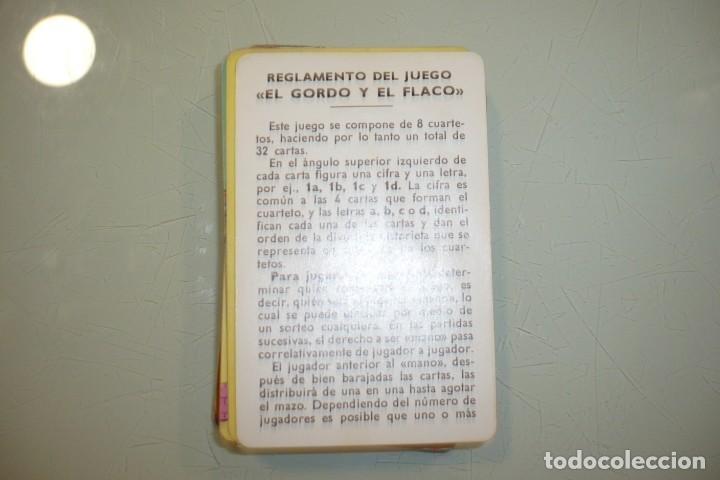Barajas de cartas: Baraja - EL Gordo y el Flaco - - Foto 3 - 194341811