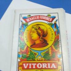 Barajas de cartas: BARAJA ESPAÑOLA GIGANTE SIN ESTRENAR. Lote 194362303