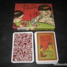 Barajas de cartas: BARAJA EL JUEGO DE LAS 7 FAMILIAS. LE JEU DES 7 FAMILLES. Lote 194488625