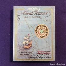 Barajas de cartas: BARAJA FOURNIER DE POKER. EUROPEAN NAVAL POWER. POTENCIAS NAVALES EUROPEAS. PRECINTADA.. Lote 194491197
