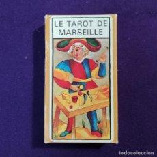 Barajas de cartas: BARAJA TAROT FOURNIER. TAROT DE MARSELLA. LE TAROT DE MARSEILLE. SIN USAR. CARTAS PRECINTADAS. 1983.. Lote 194491355
