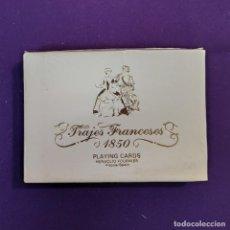 Barajas de cartas: BARAJA FOURNIER DE POKER. TRAJES FRANCESES 1850. CON TIMBRE. SIN USAR. 1975.. Lote 194492203