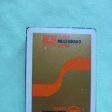 Barajas de cartas: BARAJA NAIPES FOURNIER CEPSA SUPER MULTIGRADO - PRECINTADA. AÑOS 70.. Lote 194500828