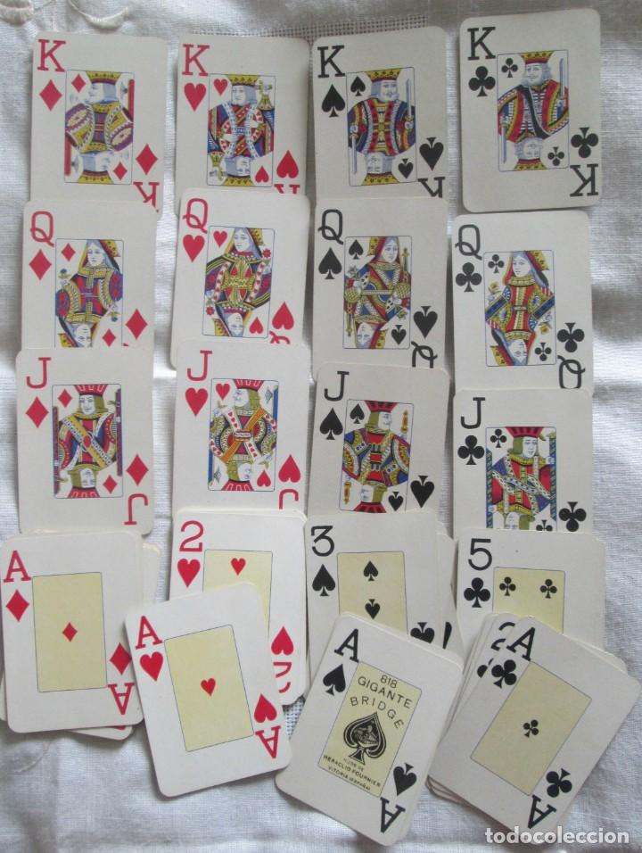 Barajas de cartas: Juego de barajas de póker completa, marca Hijos de Eraclio Fournier, publicidad de BANDEIRA Ave Marí - Foto 7 - 194501451