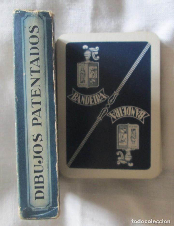 Barajas de cartas: Juego de barajas de póker completa, marca Hijos de Eraclio Fournier, publicidad de BANDEIRA Ave Marí - Foto 10 - 194501451