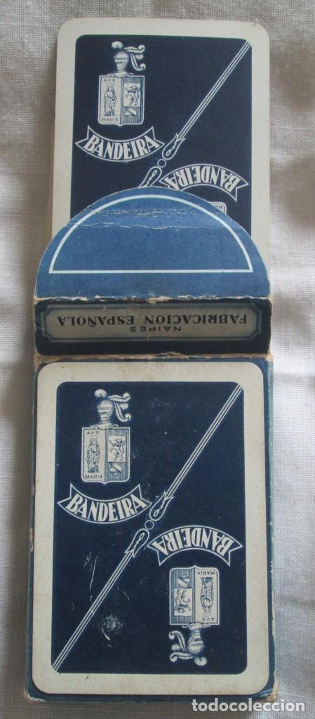 Barajas de cartas: Juego de barajas de póker completa, marca Hijos de Eraclio Fournier, publicidad de BANDEIRA Ave Marí - Foto 11 - 194501451