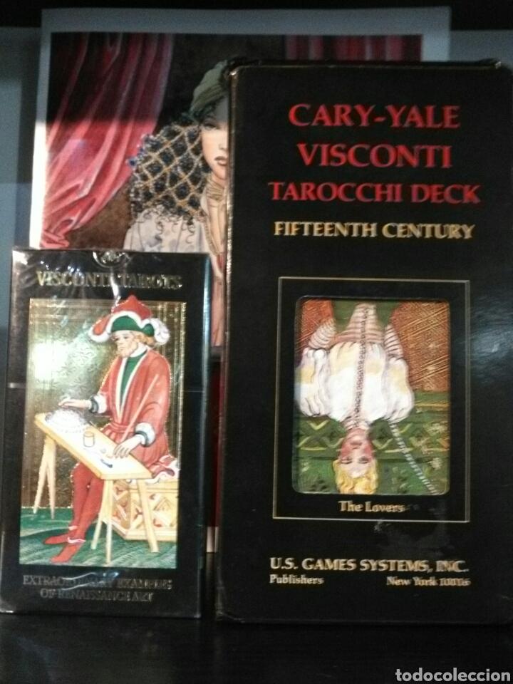 Barajas de cartas: **TAROT.**CARY-YALE.(Gigante).***VISCONTI.TAROCCHI DECK. - Foto 2 - 194507575