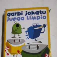 Barajas de cartas: BARAJA JUEGA LIMPIO. Lote 194530343