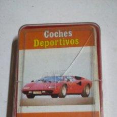 Barajas de cartas: CARTAS COCHES DEPORTIVOS. Lote 194530640