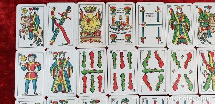 Barajas de cartas: BARAJA DE 40 NAIPES. LA HISPANO AMERICANA. JOAN ROURA. BARCELONA 1918. - Foto 11 - 149322650