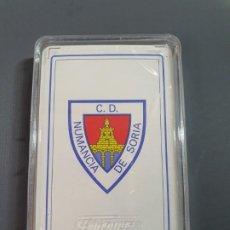 Barajas de cartas: BARAJA DE CARTAS FOURNIER CLUB DEPORTIVO NUMANCIA, SORIA. CON EL BLISTER ORIGINAL SIN ABRIR. Lote 194539248