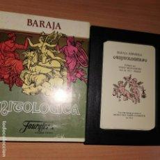 Barajas de cartas: BARAJA ESPAÑOLA FOURNIER. MITOLOGICA. Lote 194609086
