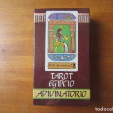 Barajas de cartas: TAROT EGIPCIO ADIVINATORIO (NAIPES COMAS) (MARGARITA ARNAL MOSCARDO). Lote 194617958