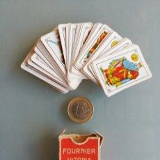 Barajas de cartas: NAIPE LILIPUT - FOURNIER - 48 CARTAS - . Lote 194671782