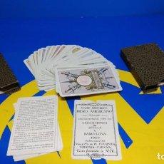Barajas de cartas: BARAJA FOURNIER. NAIPE HISTORICO IBERO AMERICANO. ORIGINAL 1929 RELIEVE NAIPE VASCO. Lote 194698495