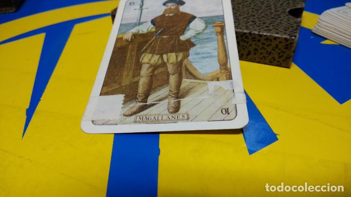 Barajas de cartas: BARAJA FOURNIER. NAIPE HISTORICO IBERO AMERICANO. original 1929 relieve NAIPE VASCO - Foto 7 - 194698495