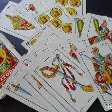 Barajas de cartas: BARAJA GIGANTE ESPAÑOLA. Lote 194700280