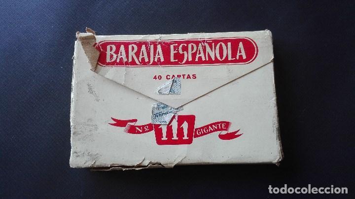 Barajas de cartas: BARAJA GIGANTE ESPAÑOLA - Foto 3 - 194700280