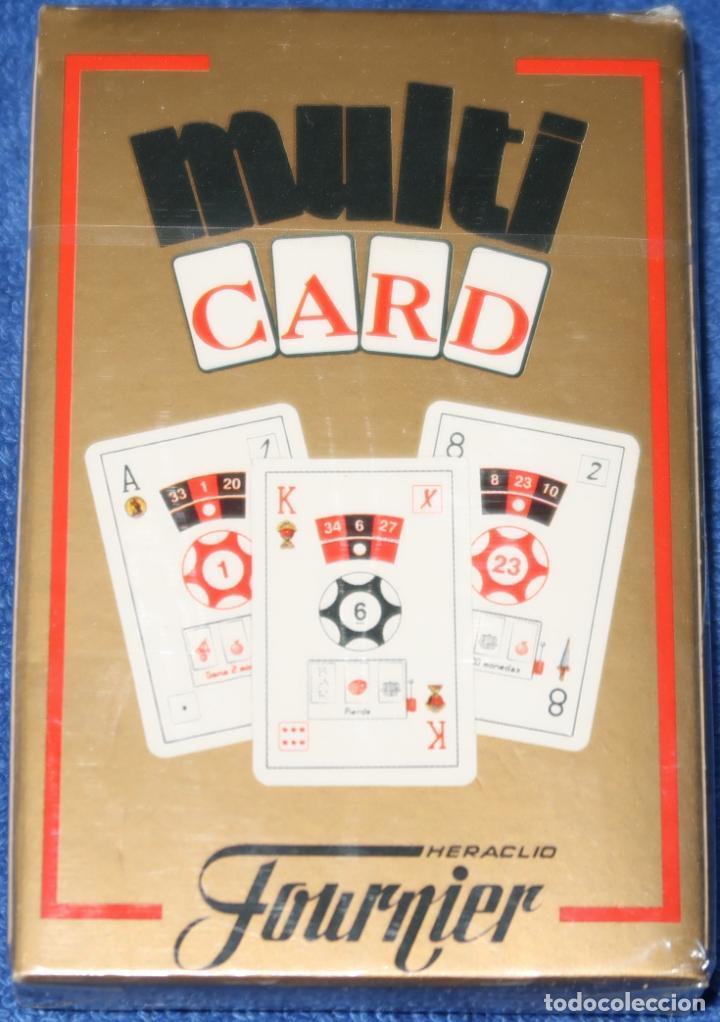 MULTICARD - FOURNER ¡PRECINTADA! (Juguetes y Juegos - Cartas y Naipes - Baraja Española)