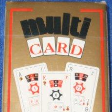Barajas de cartas: MULTICARD - FOURNER ¡PRECINTADA!. Lote 194737851