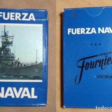 Barajas de cartas: BARAJA CARTAS FUERZA NAVAL HERACLIO FOURNIER. Lote 194745837