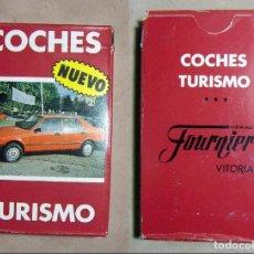 Barajas de cartas: BARAJA CARTAS COCHES TURISMO HERACLIO FOURNIER. Lote 194745911