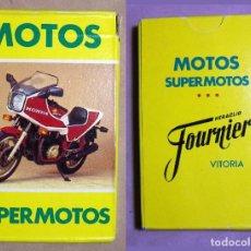 Barajas de cartas: BARAJA CARTAS MOTOS SUPERMOTOS HERACLIO FOURNIER. Lote 194745953