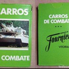 Barajas de cartas: BARAJA CARTAS CARROS DE COMBATE HERACLIO FOURNIER. Lote 194746020
