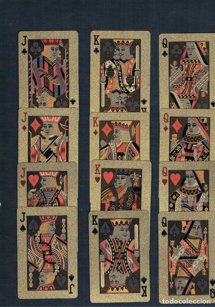 BARAJA DE POKER S.P. EN LUJO ORO IMPERMEABLE (Juguetes y Juegos - Cartas y Naipes - Barajas de Póker)