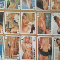 Barajas de cartas: CARTAS NUDE PLAYING CARDS POKER GAIETY MODELS COLOUR ADULT CARDS.CON CAJA ORIGINAL.PERFECTO ESTADO.. Lote 194760248