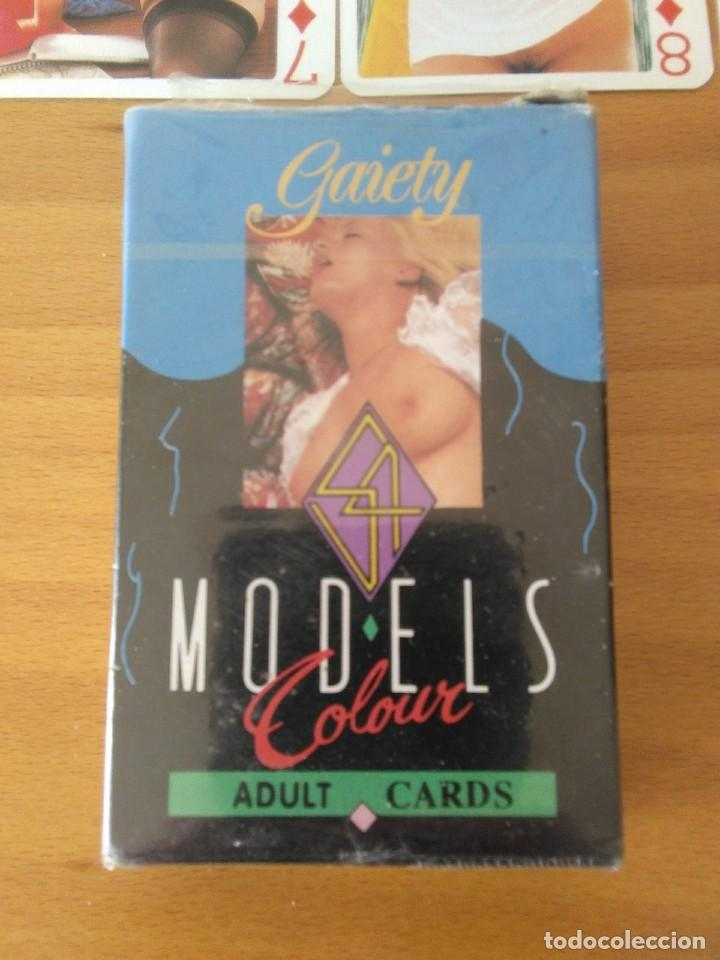 Barajas de cartas: cartas nude playing cards poker gaiety models colour adult cards.con caja original.perfecto estado. - Foto 4 - 194760248