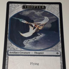 Barajas de cartas: CARTA MAGIC THE GATHERING THOPTER. Lote 194789211