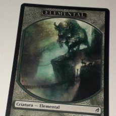 Barajas de cartas: CARTA MAGIC THE GATHERING ELEMENTAL. Lote 194789273