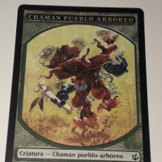 Barajas de cartas: CARTA MAGIC THE GATHERING CHAMAN PUEBLO ARBOREO. Lote 194789330