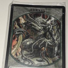 Barajas de cartas: CARTA MAGIC THE GATHERING BEAST. Lote 194789551