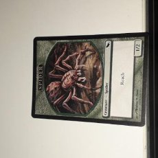 Barajas de cartas: CARTA MAGIC THE GATHERING SPIDER. Lote 194805911