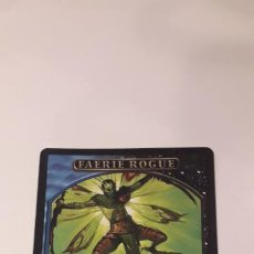 Barajas de cartas: CARTA MAGIC THE GATHERING FAERIE ROGUE. Lote 194860260
