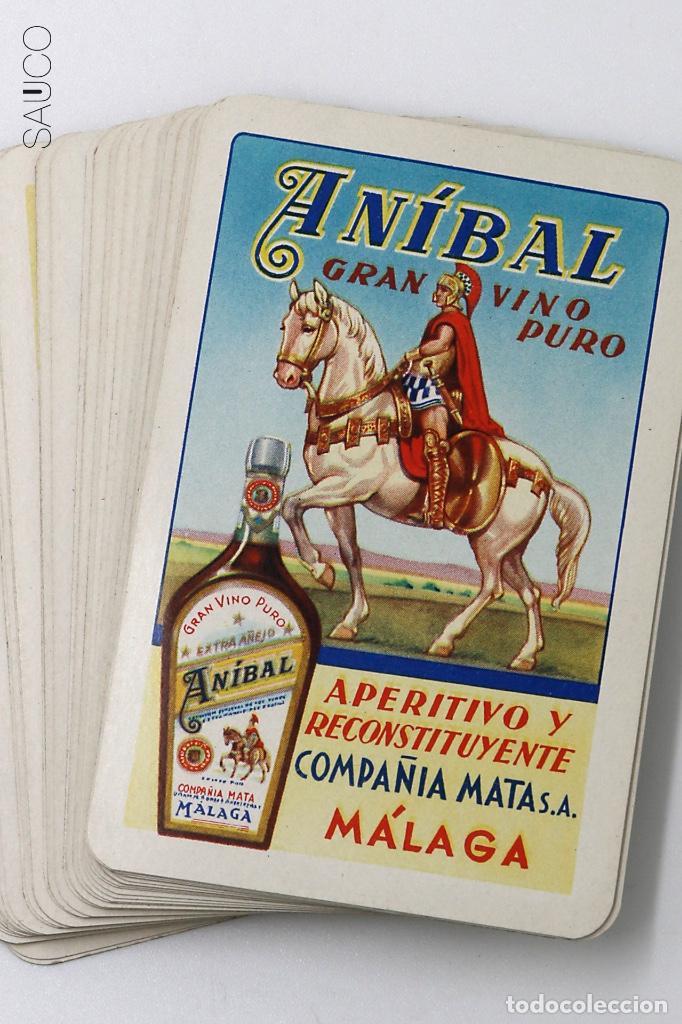 BARAJA DE CARTAS PUBLICIDAD ANIBAL (Juguetes y Juegos - Cartas y Naipes - Baraja Española)