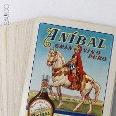 Barajas de cartas: BARAJA DE CARTAS PUBLICIDAD ANIBAL. Lote 194860542