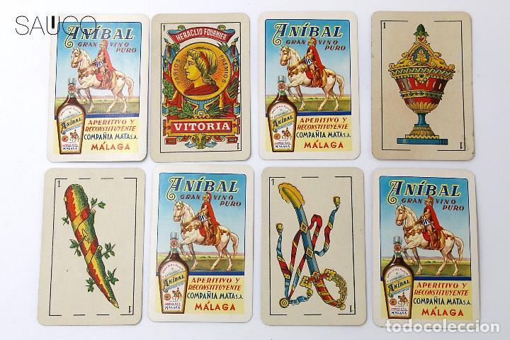 Barajas de cartas: BARAJA DE CARTAS PUBLICIDAD ANIBAL - Foto 2 - 194860542
