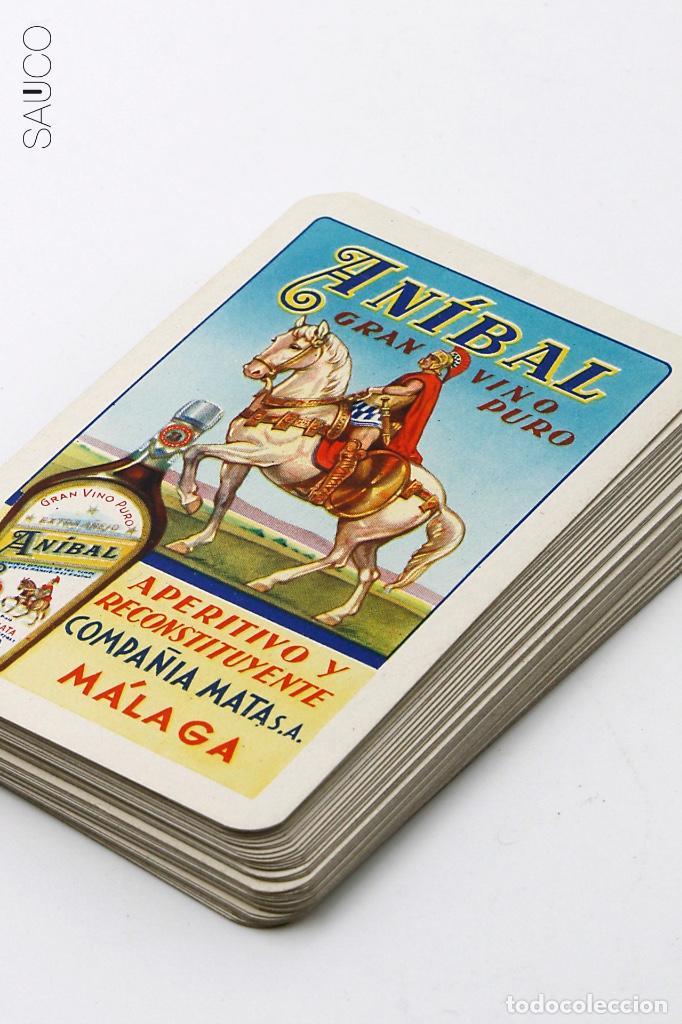 Barajas de cartas: BARAJA DE CARTAS PUBLICIDAD ANIBAL - Foto 3 - 194860542