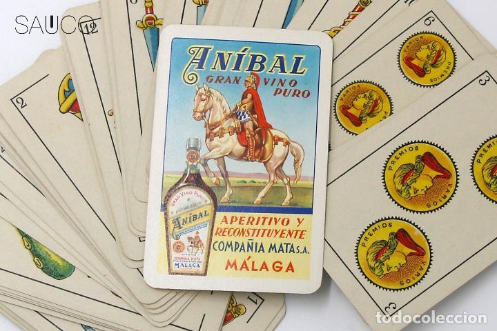 Barajas de cartas: BARAJA DE CARTAS PUBLICIDAD ANIBAL - Foto 4 - 194860542
