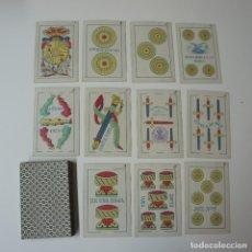 Barajas de cartas: BARAJA DE CARTAS DE FABRICANTES DE NAIPES DE ESPAÑA S.A - BARCELONA 1929 PARA MANILA.. Lote 194869847