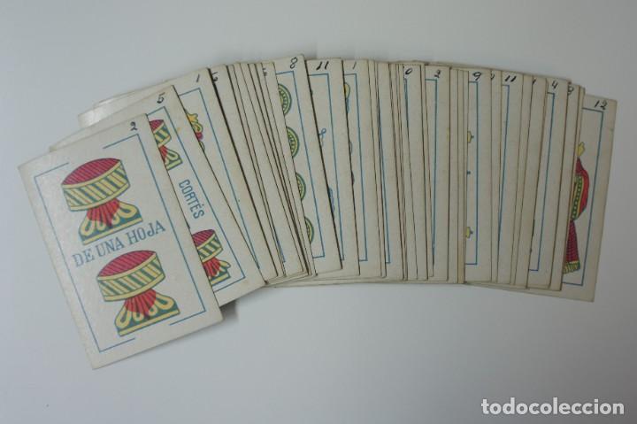 Barajas de cartas: BARAJA DE CARTAS DE FABRICANTES DE NAIPES DE ESPAÑA S.A - BARCELONA 1929 PARA MANILA. - Foto 2 - 194869847