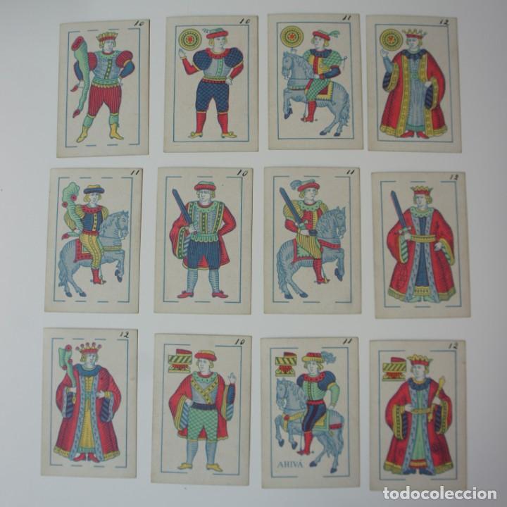 Barajas de cartas: BARAJA DE CARTAS DE FABRICANTES DE NAIPES DE ESPAÑA S.A - BARCELONA 1929 PARA MANILA. - Foto 4 - 194869847