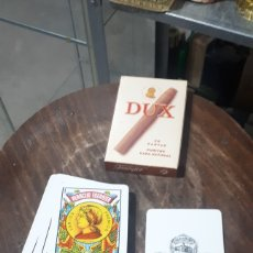 Barajas de cartas: BARAJA PUBLICITARIA PURITOS DUX HERACLIO FOURNIER 50 CARTAS NAIPES FIBRA MARFIL. Lote 194881230
