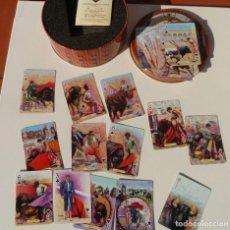 Barajas de cartas: BARAJA GRANDES TOREROS DE LA HISTORIA, OBRA DE ESCACENA, IMPECABLE, FOURNIER. Lote 194936838