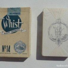Barajas de cartas: BARAJA WHIST NAIPE FRANCÉS Nº 14 HERACLIO FOURNIER NAIPES PRECINTADOS. Lote 194951902