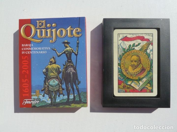 BARAJA CARTAS PRECINTADA EL QUIJOTE, IV CENTENARIO, FOURNIER (Juguetes y Juegos - Cartas y Naipes - Baraja Española)
